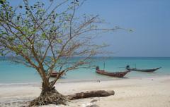 Huwelijksreis Thailand Stad Strand Honeymoon