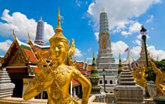 Huwelijksreis Thailand - honeymoon trip naar boeddha in Bangkok