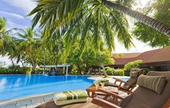 Het Kurumba Maldives Resort op de Malediven