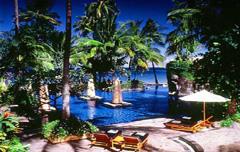 Honeymoon Sheraton Senggigi Beach Resort huwelijksreis