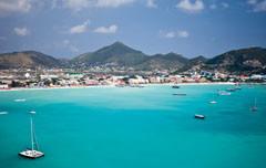 Boeing 787 Dreamliner naar Sint Maarten