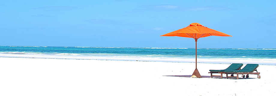 Zonvakantie op het strand