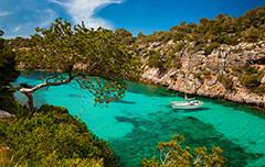 Mallorca kust