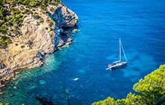 De kust van Spanje